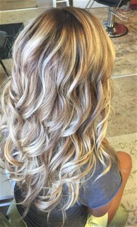 best type of hair color for brunettes balay or ombre platinum highlights with a medium brown base platinum