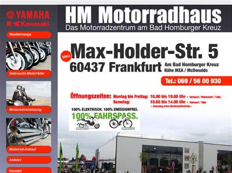 Motorradladen Frankfurt by H M Motorradhaus In Frankfurt Am Motorradh 228 Ndler