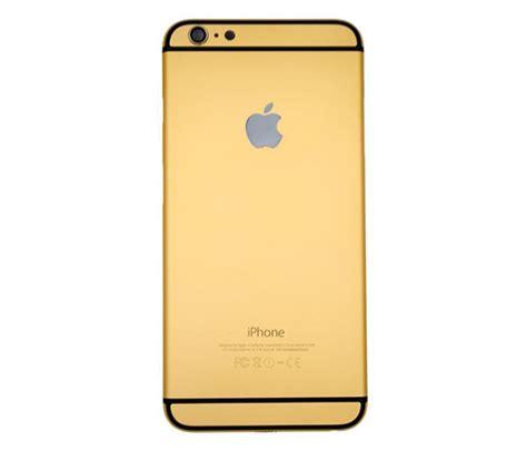 Iphone 6 Aluminium Back Gold iphone 6 plus golden housing