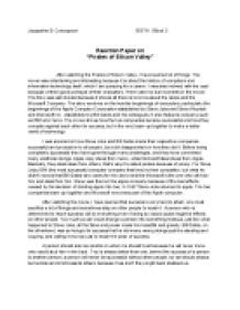 Bill Gates Essay by Reaction Paper On Of Silicon Valley Bill Gates And Steve Gcse Business Studies