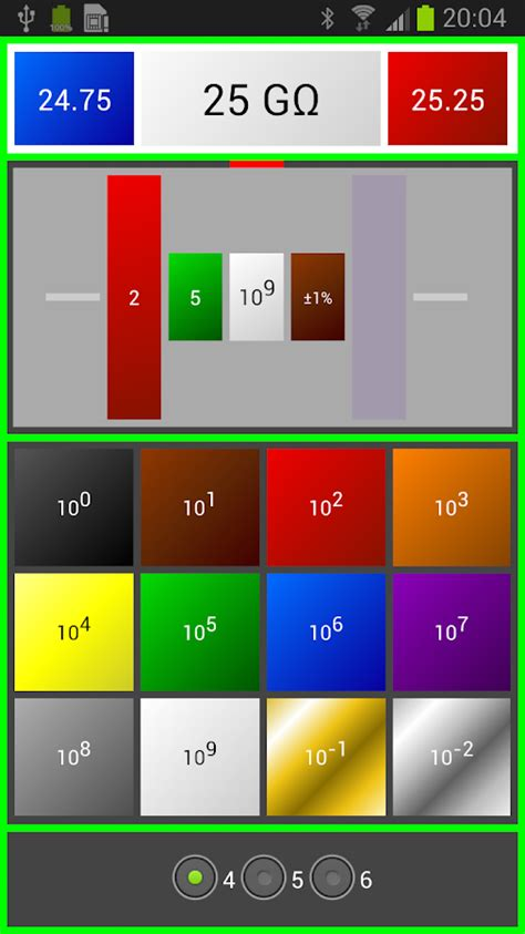 android color codes resistor color code ohm calcul android apps on play