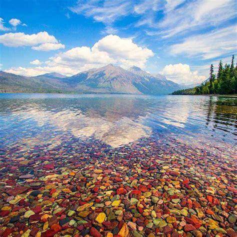 lake mcdonald montana colored rocks an early fall trip with bob carson