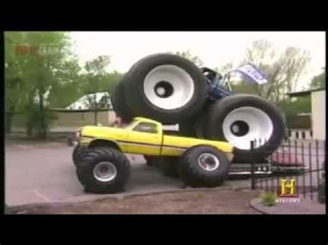 bigfoot 5 crushing trucks truck bigfoot 5 is the meanest on the