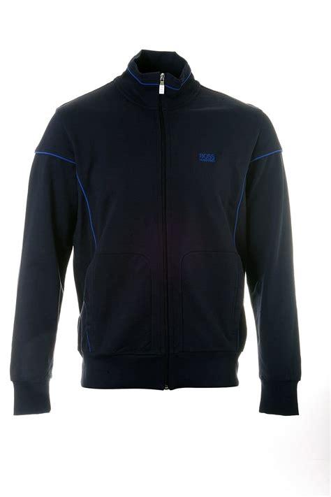 Hoodie Zipper Bmth True Friends C3 hugo green label zip up sweatshirt in blue black and grey skaz 50240124 clothing from