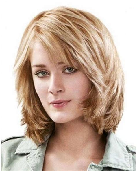 Medium Hairstyles With Bangs Layered by Medium Layered Bob Without Bangs 25 Best Ideas About