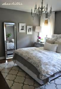 Gray Bedroom Decorating Ideas by Dear Lillie Some Finishing Touches To Our Gray Guest