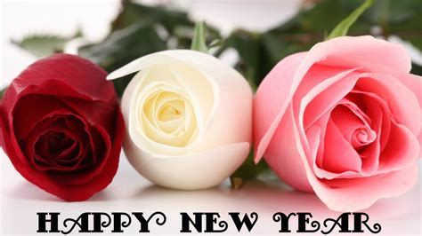 flower hd images with happy new year happy new year 2016 flowers photo bouquets wallpaper