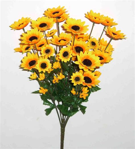 How To Decorate Home In Diwali by Artificial Sunflower Flowers