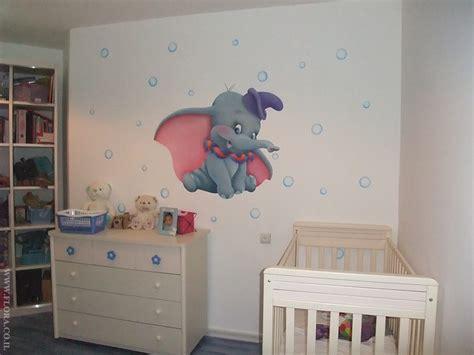 dumbo baby room flora murals rooms dumbo murals baby room location rishon lezion muralist flora