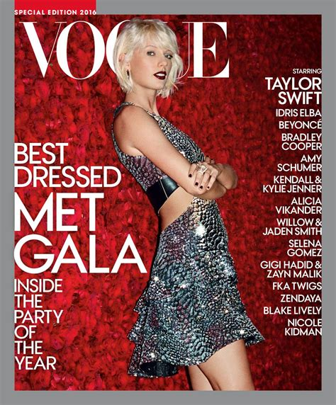 vogue and the metropolitan taylor swift latest photos celebmafia