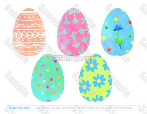 printable easter egg gift tags easter egg gift tags