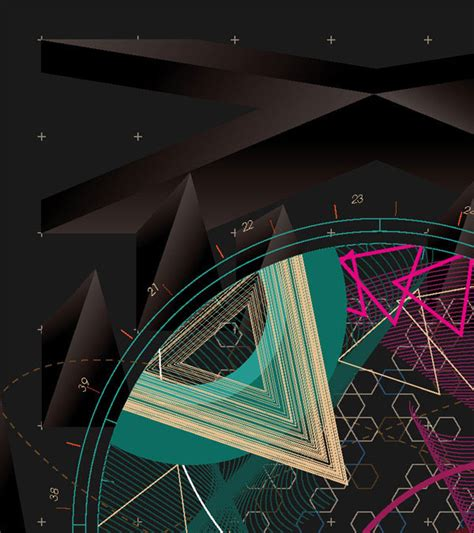 30 Mind Blowing Exles Of Geometric Designs Web Geometric Inspiration