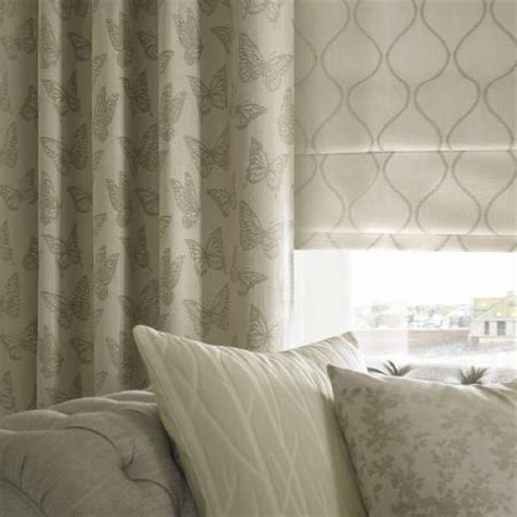 grey cream curtains ashley wilde coastal fabric collection grey and cream