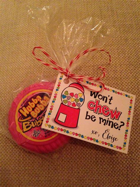 valentines for classmates for classmates bubblegum goodies sweet treats