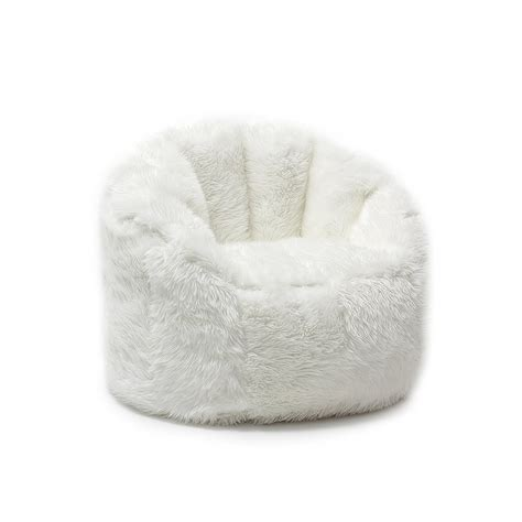 20 cute bean bag chairs for toddlers bean bag chair for adults white fluffy furry shaggy teens