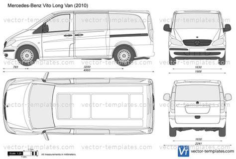 templates cars mercedes benz mercedes benz vito long van