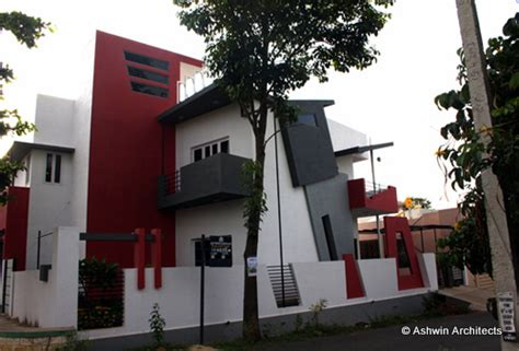architectural designs  modern duplex house architect magazine ashwin architects