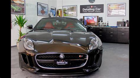 Car Detailing Types by Detailing Car Jaguar F Type R 233 Novation Compl 232 Te