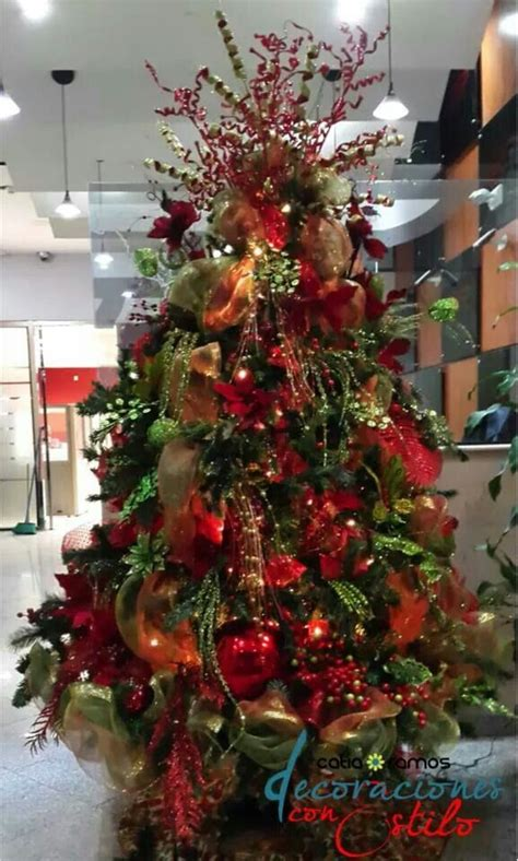47 best decoraci 243 n navide 241 a images on green - Decoracion Arbol Navidad 2014