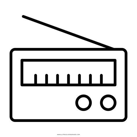 imagenes de radios faciles para dibujar radio desenho png
