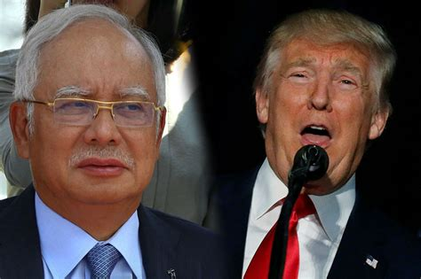 donald trump malaysia malaysian pm trump appealed to americans who want less