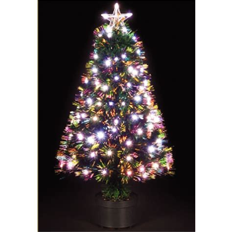 argos fiber optic christmas tree 5ft white tree 6ft find it for less