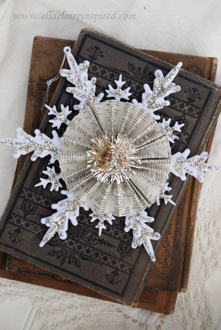 Handmade Snowflakes - handmade snowflakes and vintage on