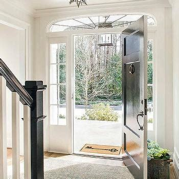 black front door with sidelights traditional entrance foyer glossy black front door with black sidelights