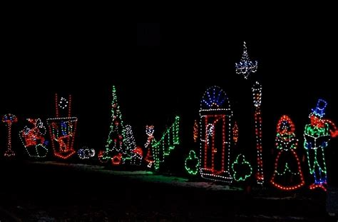 holiday lights at olin park madison365