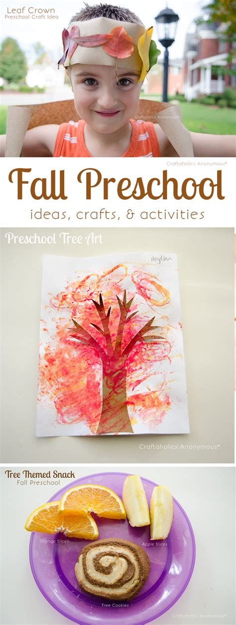 fall themed crafts for craftaholics anonymous 174 tree themed preschool ideas for fall