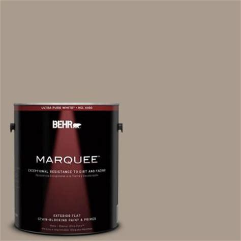 behr marquee 1 gal n210 4 espresso martini flat exterior paint 445401 the home depot