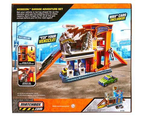 matchbox garage mattel matchbox garage adventure playset great daily