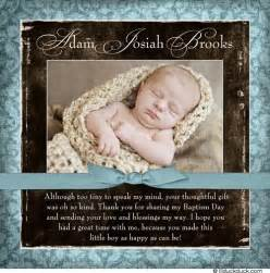 christening thank you verse wording ideas for baptism cards