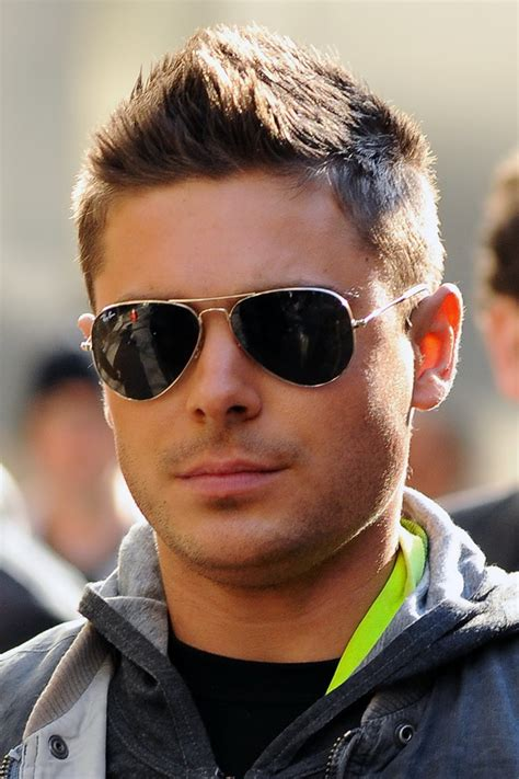best actors haircuts zac efron hairstyles