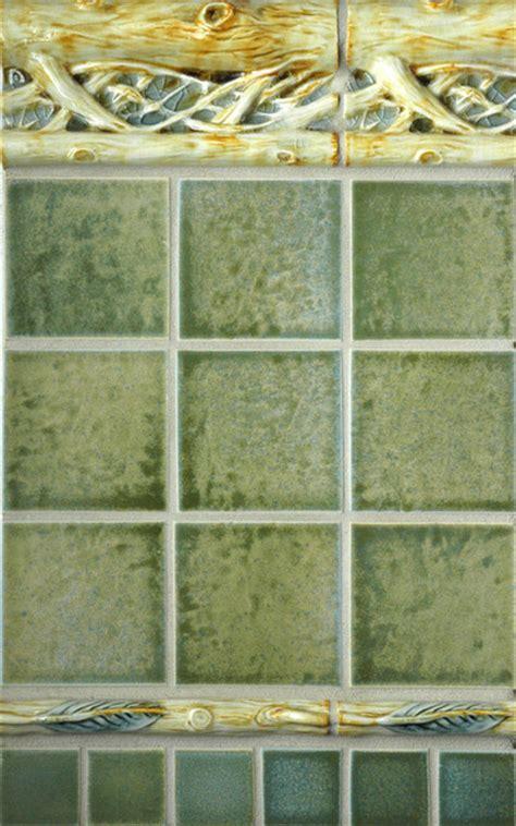 craftsman style rustic tile portland  pratt