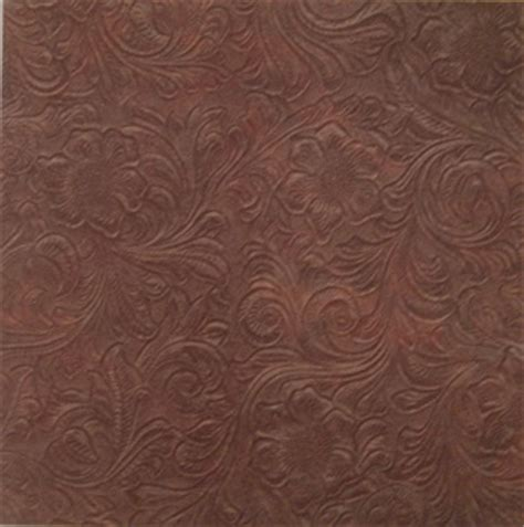 tooled leather scrapbook paper scrapbooking leather