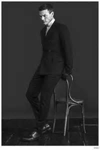 Luke Evans Stars in WWD Photo Shoot to Promote 'Dracula