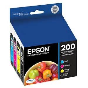 reset epson xp 400 ink cartridge epson t200120 bcs combo pack durabrite ultra ink