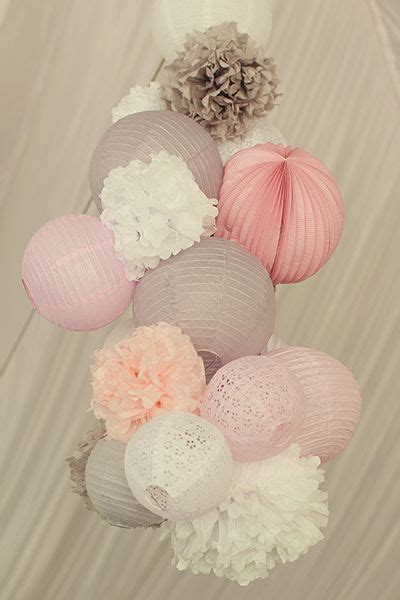 How To Make Tissue Paper Balls To Hang - best 20 white paper lanterns ideas on paper