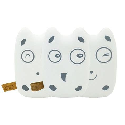 Totoro Power Bank 10400 Mah Unik Lucu 2 totoro power bank 10400 mah pipi design white