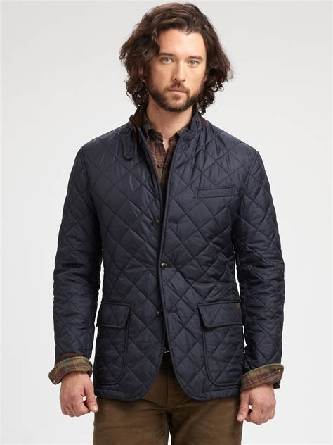 Polo Ralph Quilted by Polo Ralph Quilted Sport Coat In Blue For Lyst