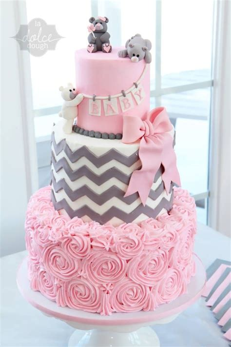 Teddy Baby Shower Cake Ideas by 10 Gorgeous Baby Shower Cakes Pretty My Ideas