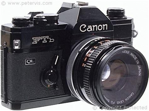 Slr Canon Ftb Analog Bukan Digital image gallery cameras canon ftb