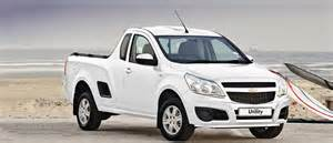 utility bakkie the all in one ldv chevrolet sa