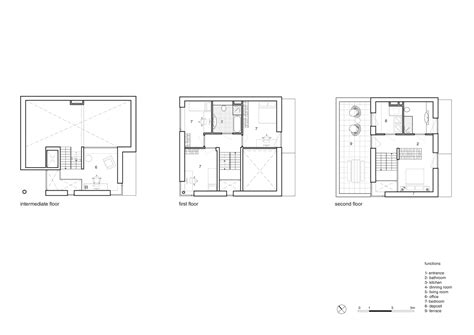 Cube House Design Layout Plan by Cube House Rotterdam Floor Plan