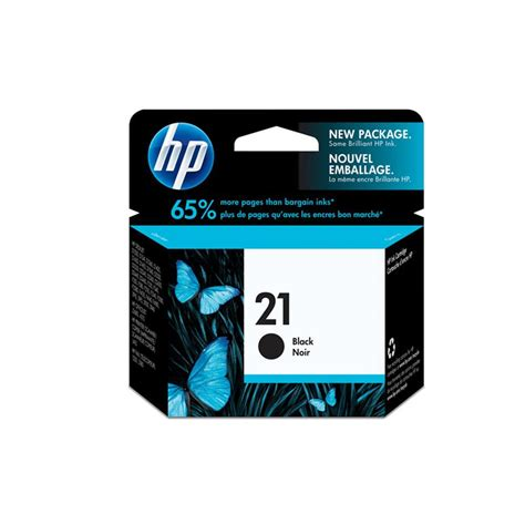 Catridge Hp 21 Bk Black hp cartridge 21 bk zwart accessoires inkt cartridge
