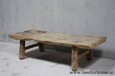 Chinese Houten Salontafel by Robuuste Oud Houten Salontafel Unieke Oude Chinese Tafel