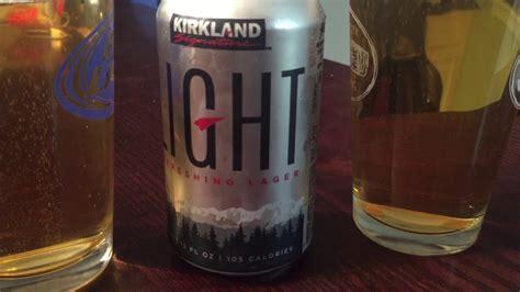 kirkland light beer discontinued new kirkland light lager vs old kirkland light beer youtube