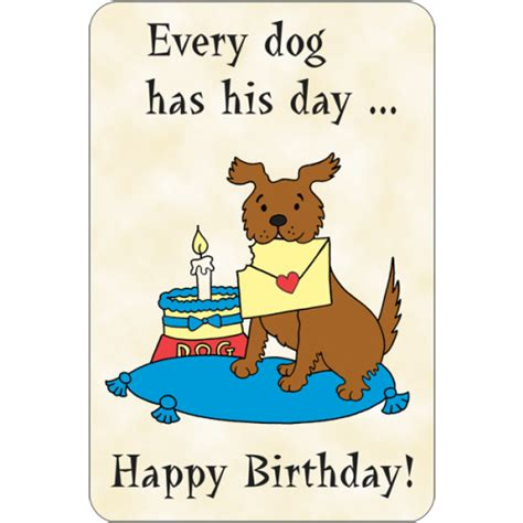 every dogs day every has his day happy b day