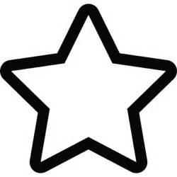 cinco puntas estrella descargar iconos gratis